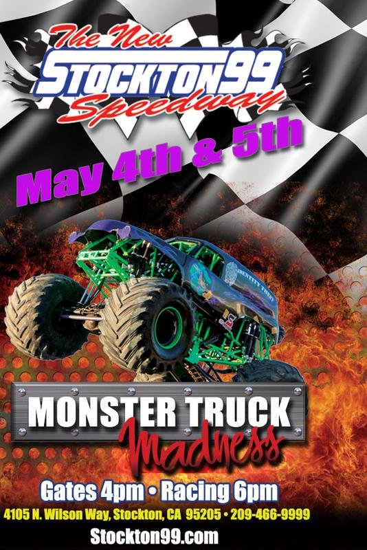 May 4 & 5, 2018 - Monster Truck Madness featuring Dr. Danger Stunt Man