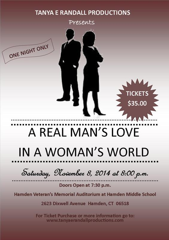"""""""A Real Man's Love in a Woman's World"""""""