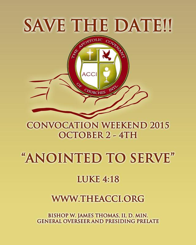Apostolic Covenant of Churches Int'l 2015 Convocation
