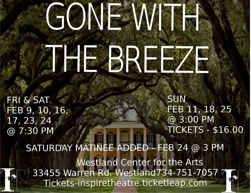 GONE WITH THE BREEZE - a musical comedy