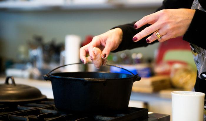 Adult Cooking Class: Cast Iron Cooking and Care