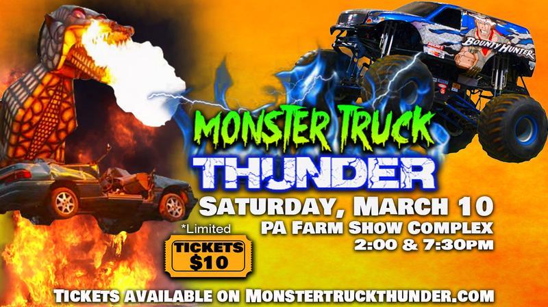 Monster Truck Thunder -Harrisburg PA