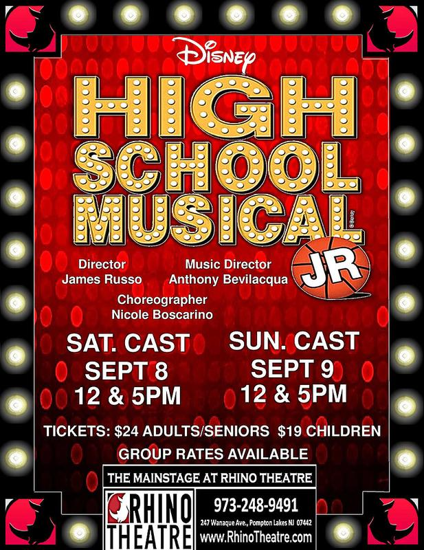 HIGH SCHOOL MUSICAL JR @ the Mainstage