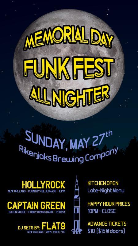Memorial Day Funk Fest