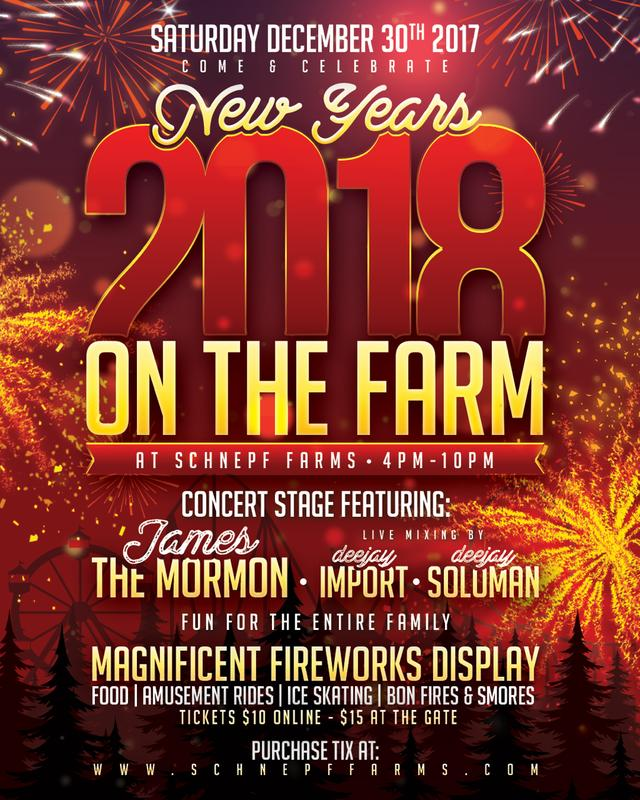 New Years on the Farm 2018