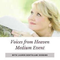 Voices From Heaven Medium Event, Mansfield, MA