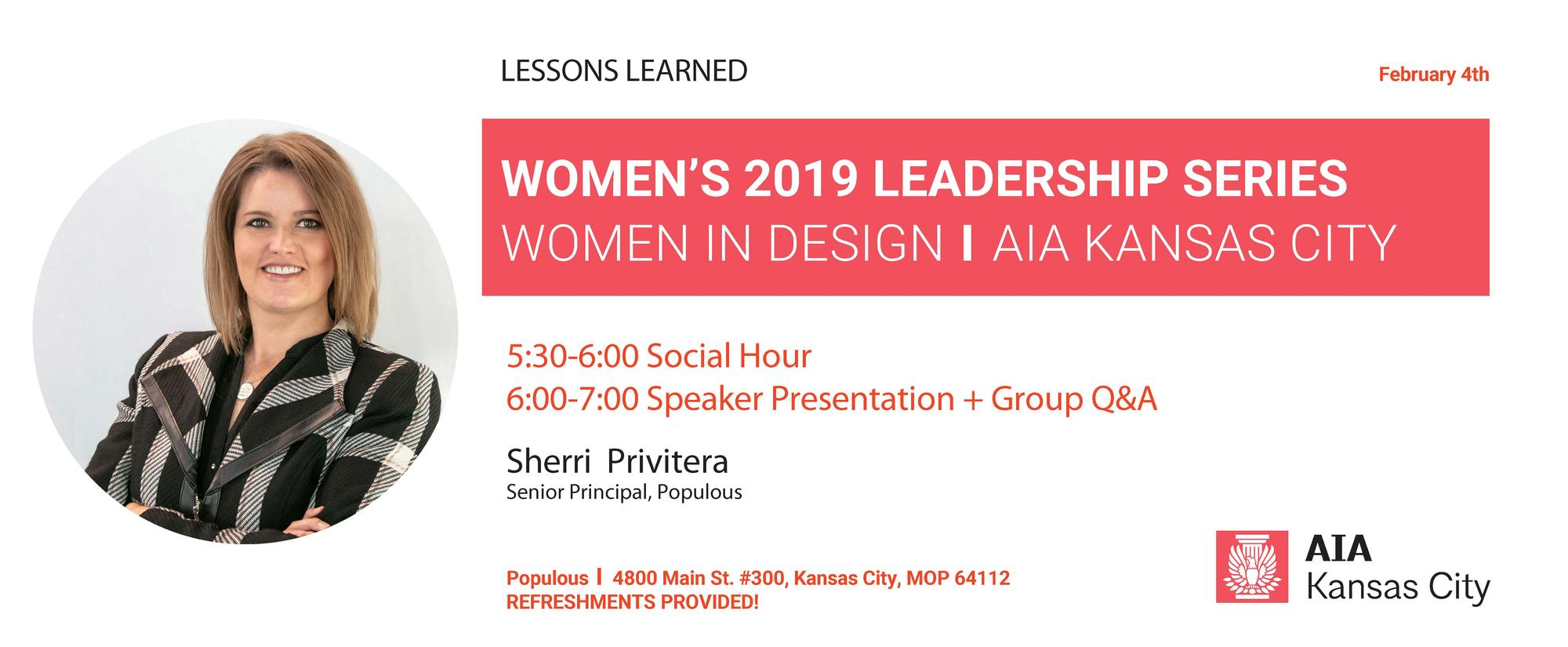 Women in Design Leadership Series: Sherri Privitera
