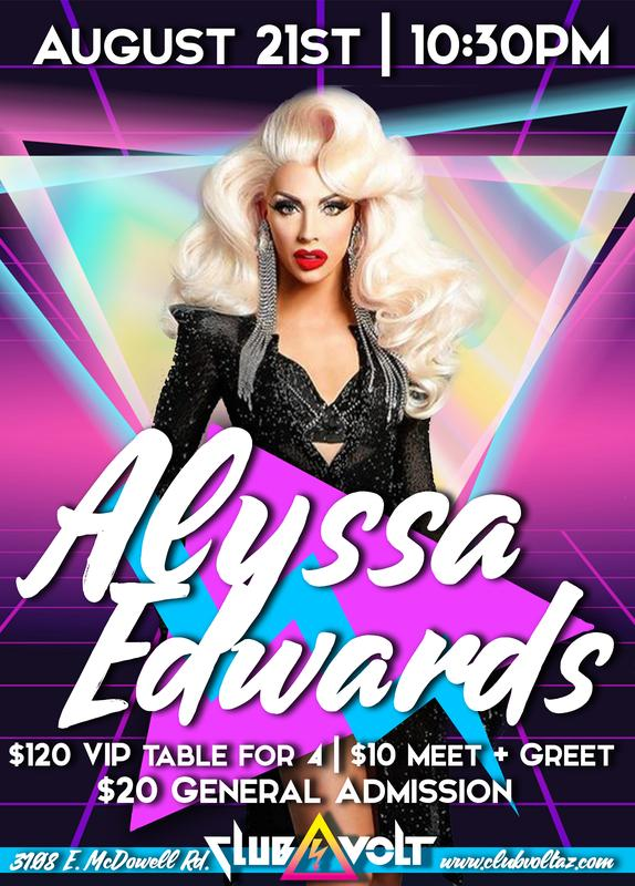 RuPaul's Drag Race Season 5 & Allstars 2 Alum ALYSSA EDWARDS