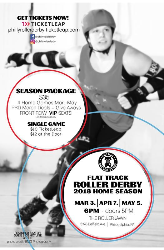 Philly Roller Derby Home Season!