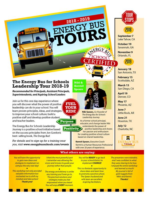Energy Bus for Schools Leadership Tour - Orlando, FL