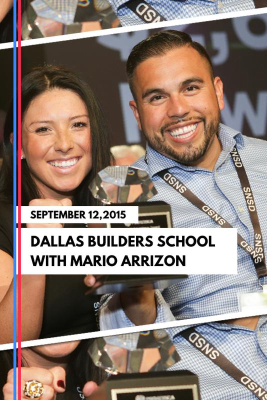 Dallas Builders School with Mario Arrizon