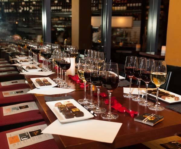 Christmas Tasting Sommelier Guided Wine & Chocolate Tasting Cours