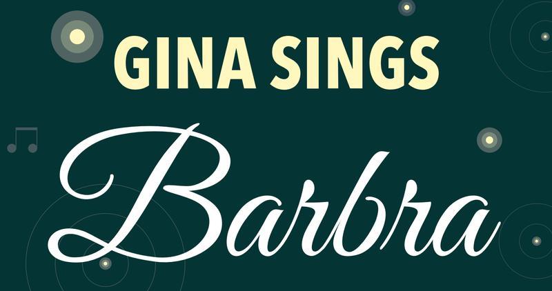 Gina Sings Barbra: The Music Of Streisand w/ Gedler & Her Band