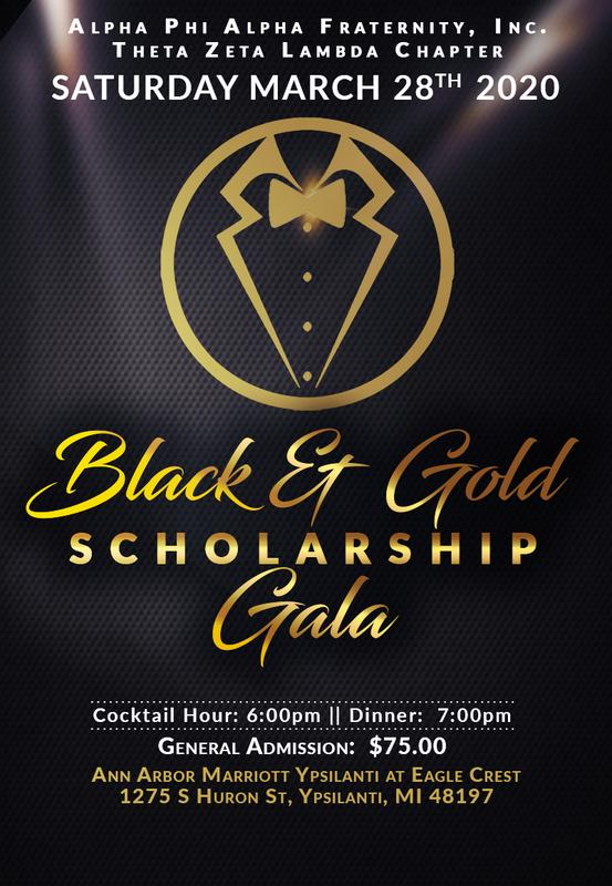 2020 Black & Gold Scholarship Gala