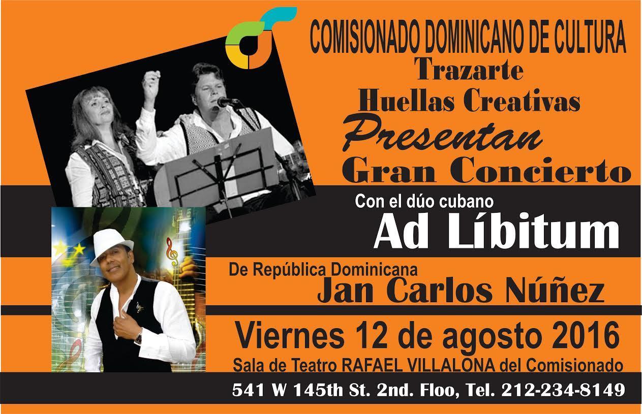 CONCIERTO AD-LIBITUM Y JANKARLOS NUÑEZ Tickets in New York, NY, United States