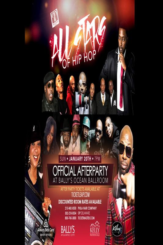 All Stars of Hip Hop After Party