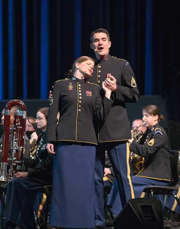 Concert Band & Soldiers' Chorus - Mars Hill