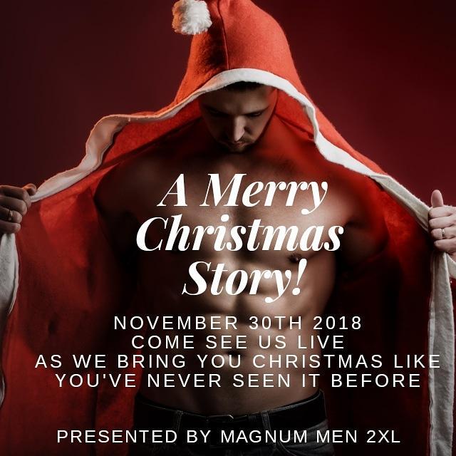 A Christmas Story Magnum Men 2XL Male Revue