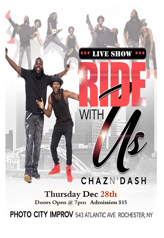 Ride With Us Live Comedy Show
