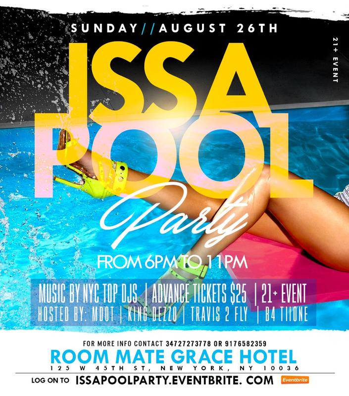 Iss a Pool Party At Room Mate Grace Hotel