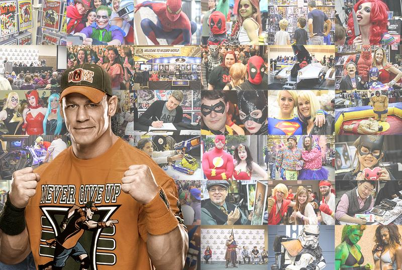 WWE® Superstar John Cena® VIP @ Wizard World Comic Con Philadelphia 2016