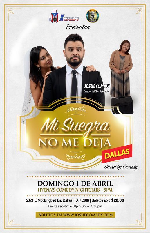 Mi Suegra No Me Deja- Dallas, TX
