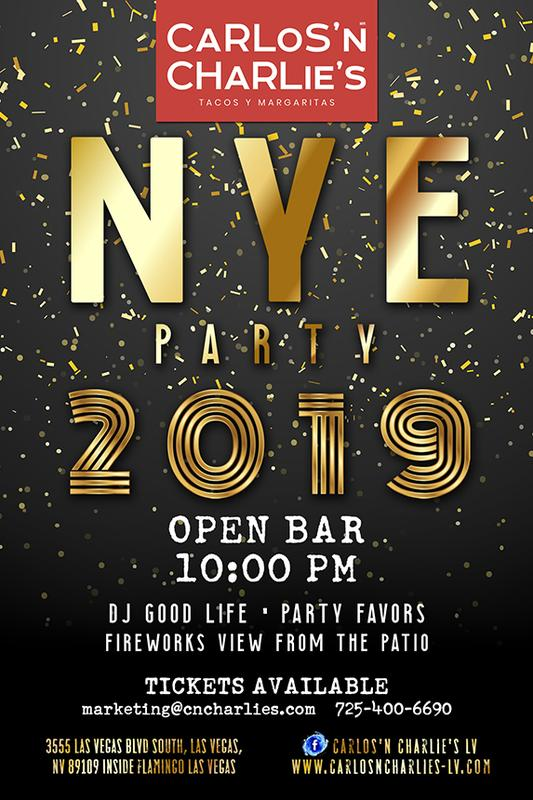 NEW YEAR EVE'S PARTY 2019