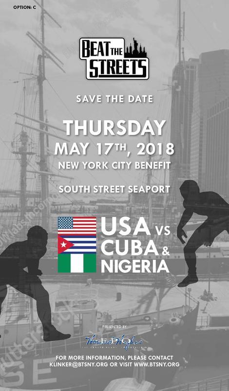 BTS Benefit: USA vs. Cuba & Nigeria
