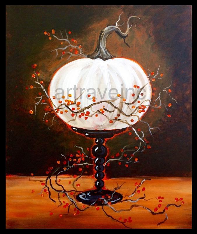 Pumpkin on a Pedestal - Anastasia's