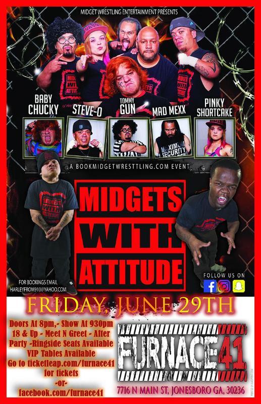 MWA Midget Wrestling at Furnace 41