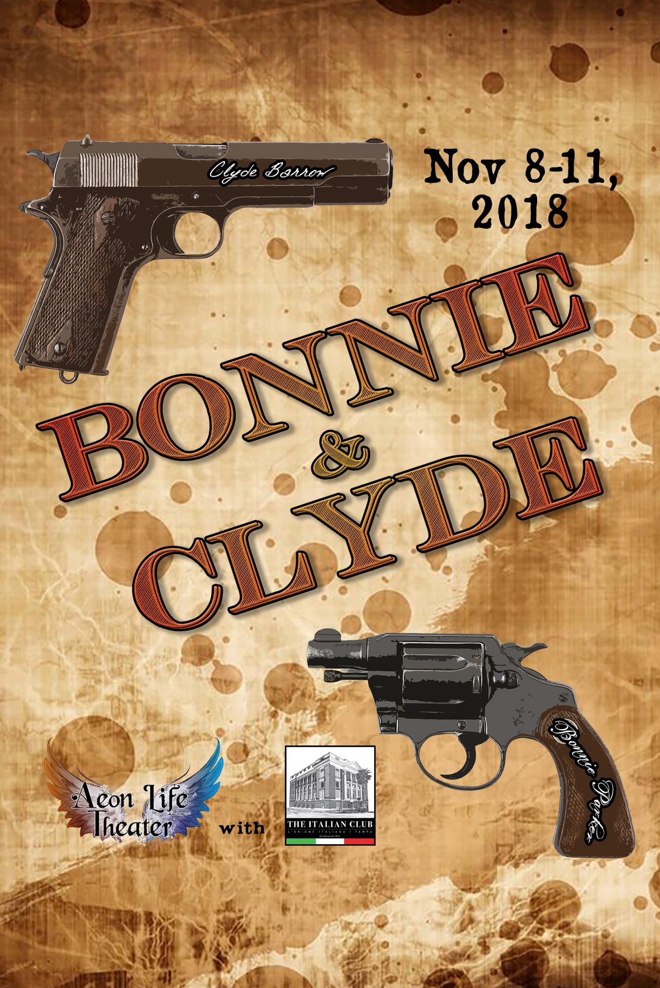 Bonnie & Clyde Tickets in Tampa, FL, United States