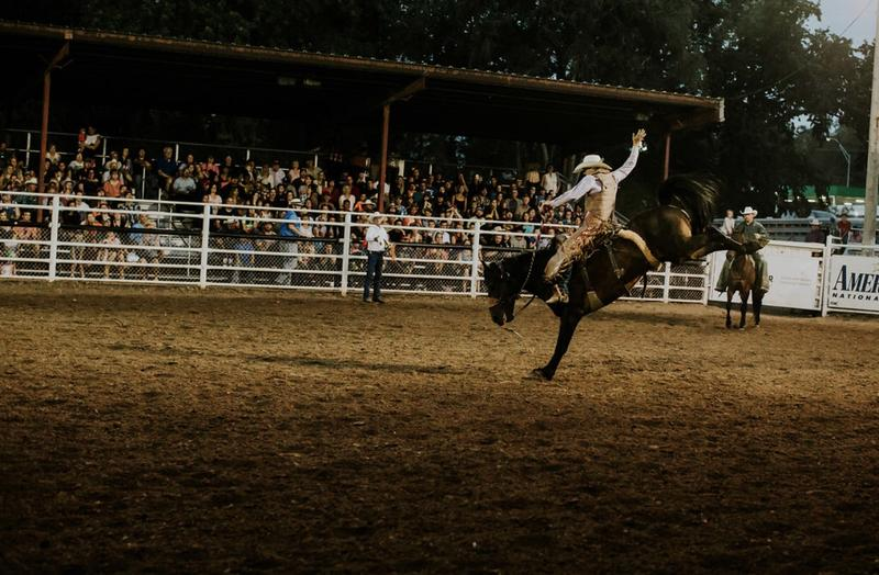 Saturday Mid States Rodeo