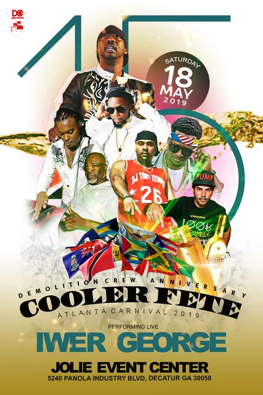 Big 15th Annual Cooler Fete-(General Admission)-ticket Sale.
