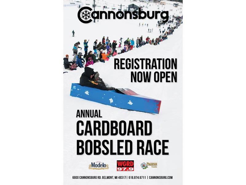 Cardboard Bobsled Derby