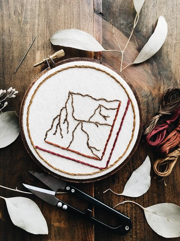 Embroidery Workshop with Escape Threads