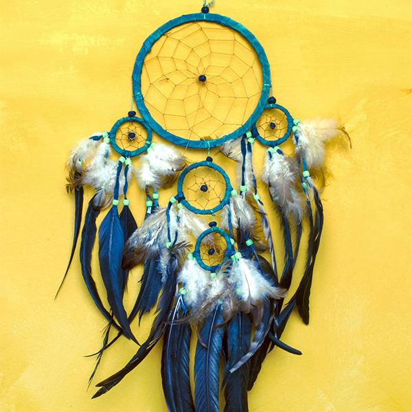 Middle School Art Workshop: Dream Catchers