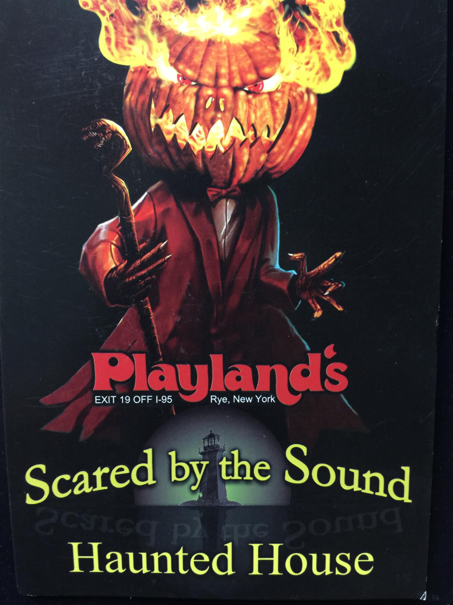 Scared by the Sound Haunted House 2018 Tickets in Rye, NY