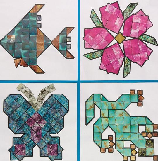 Summer Crafts- Mineral Mosaics