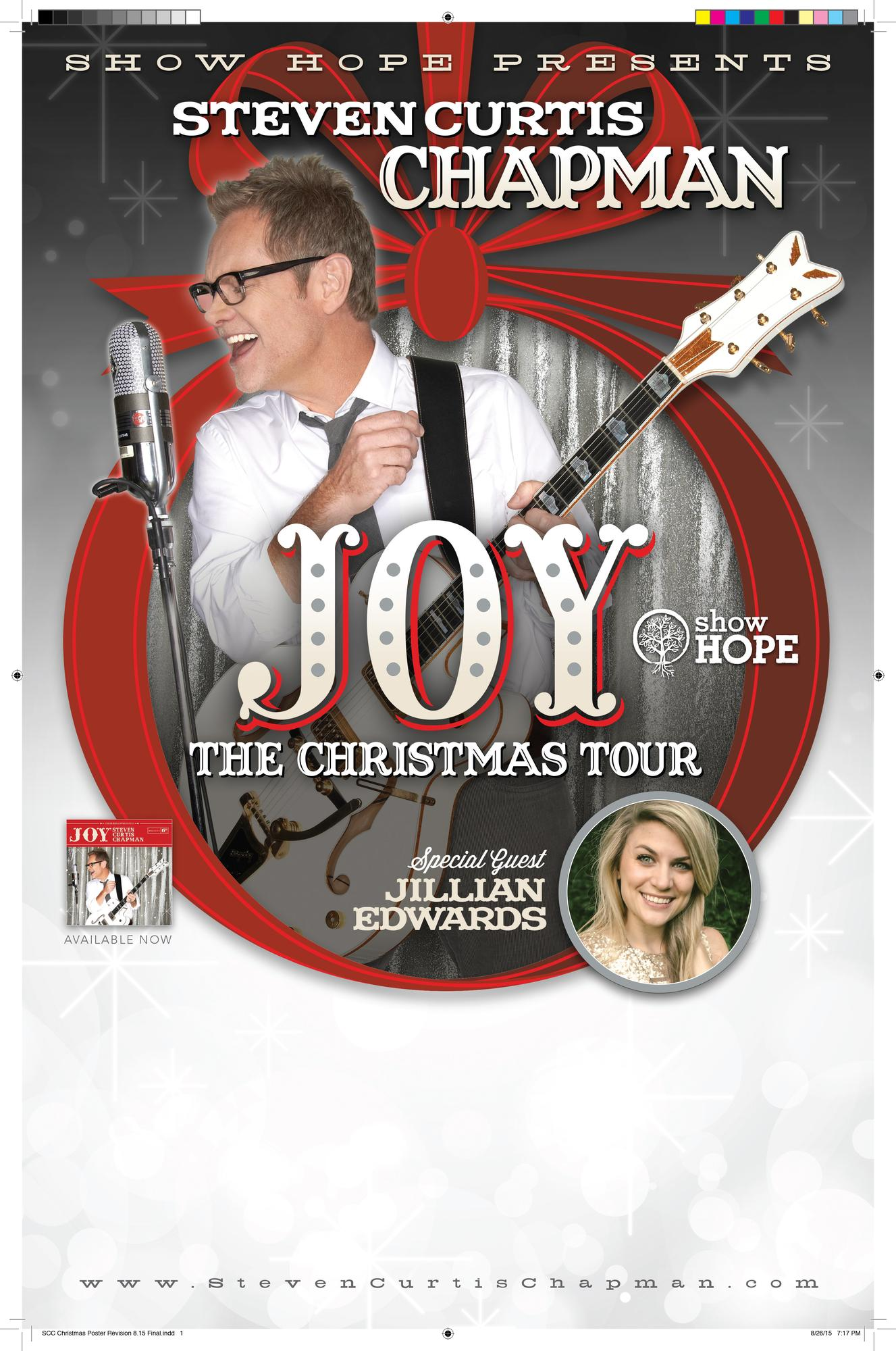 Steven Curtis Chapman JOY: The Christmas Tour Tickets in Lincoln ...