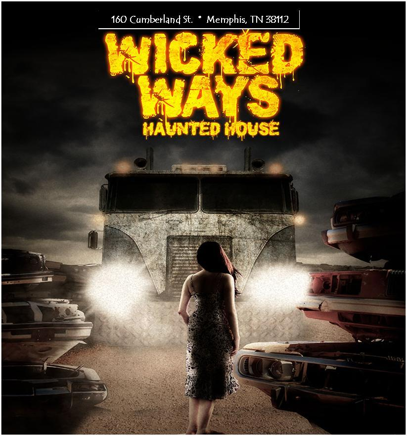 Wicked Ways Haunted House tennessee