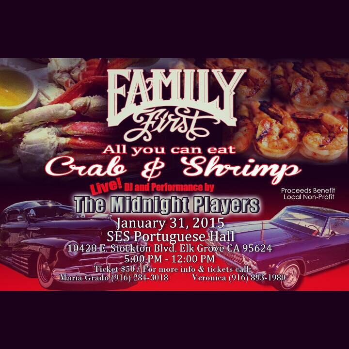 Family First All You Can Eat Crab & Shrimp Feed