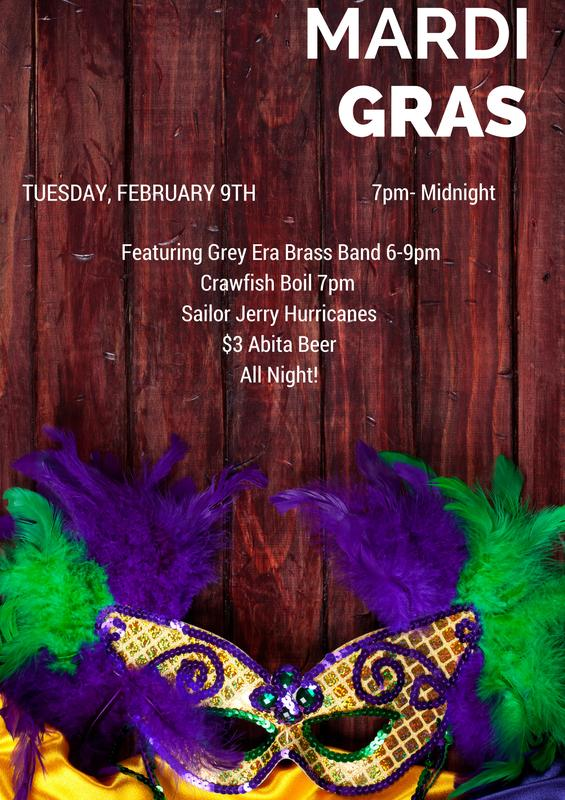 The Southern's Mardi Gras Party