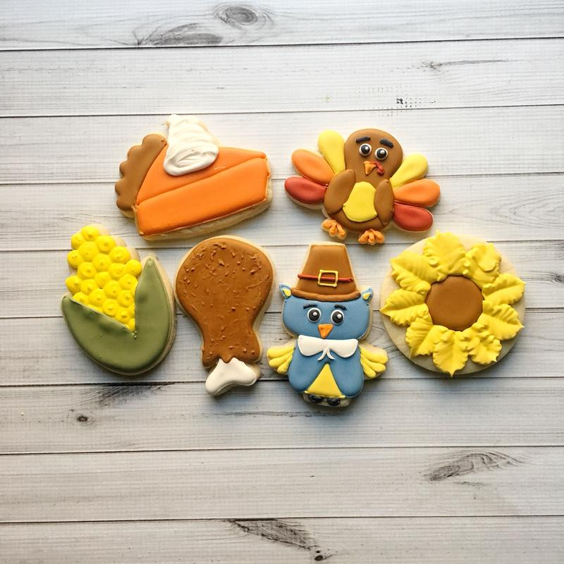 Thankful, Grateful, Blessed Cookie Class