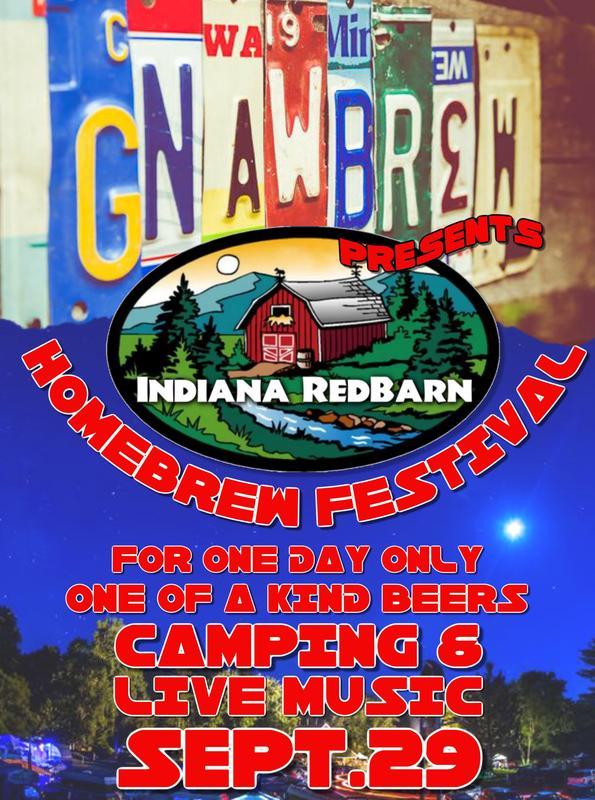 GnawBrew presents The Indiana RedBarn HomeBrew Festival Sat. 9/29