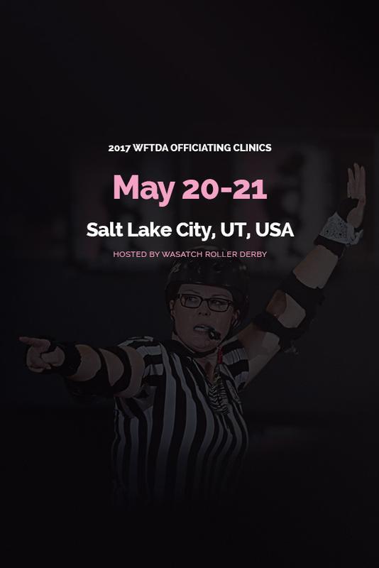 2017 WFTDA Officiating Clinic - Salt Lake City, UT, USA