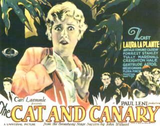 THE CAT AND THE CANARY (1927) Silent Film classic with accompaniment