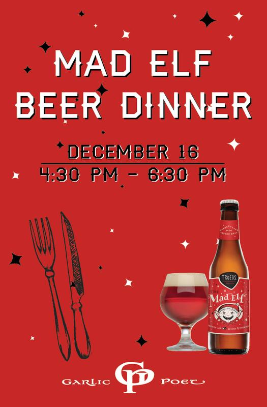 Mad Elf Beer Dinner with Troegs Independent Brewing