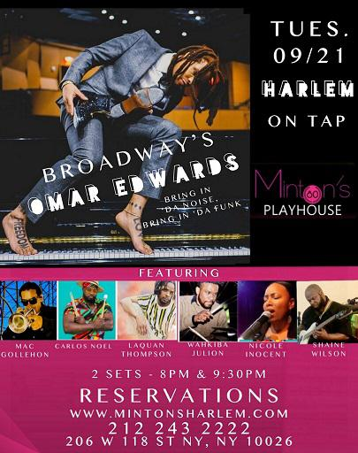 Omar Edwards - Harlem On Tap