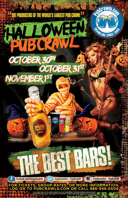 Halloween PubCrawl Baltimore