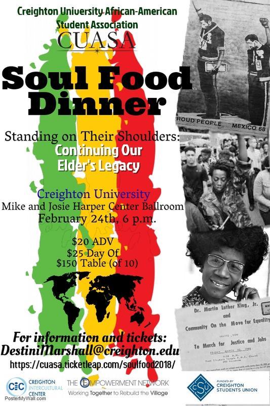 CUASA Soul Food Dinner 2018